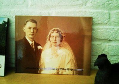 De geschiedenis van een lang gedeeld leven (omslag)